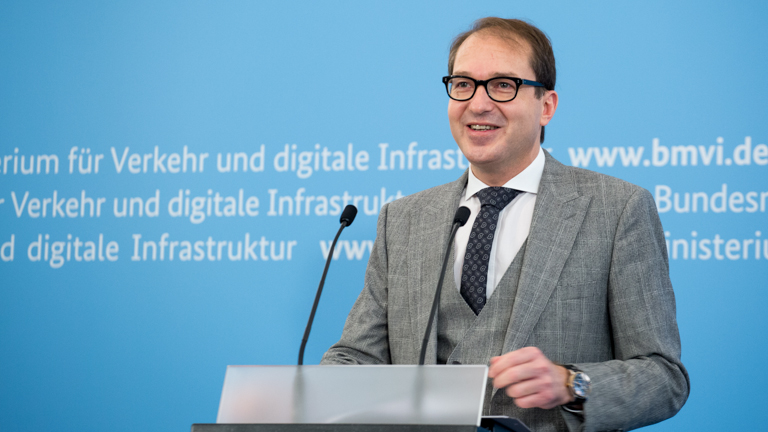 Pressekonferenz mit Minister Dobrindt zu Zukunftsforum digitales Planen und Bauen (Quelle: BMVI)