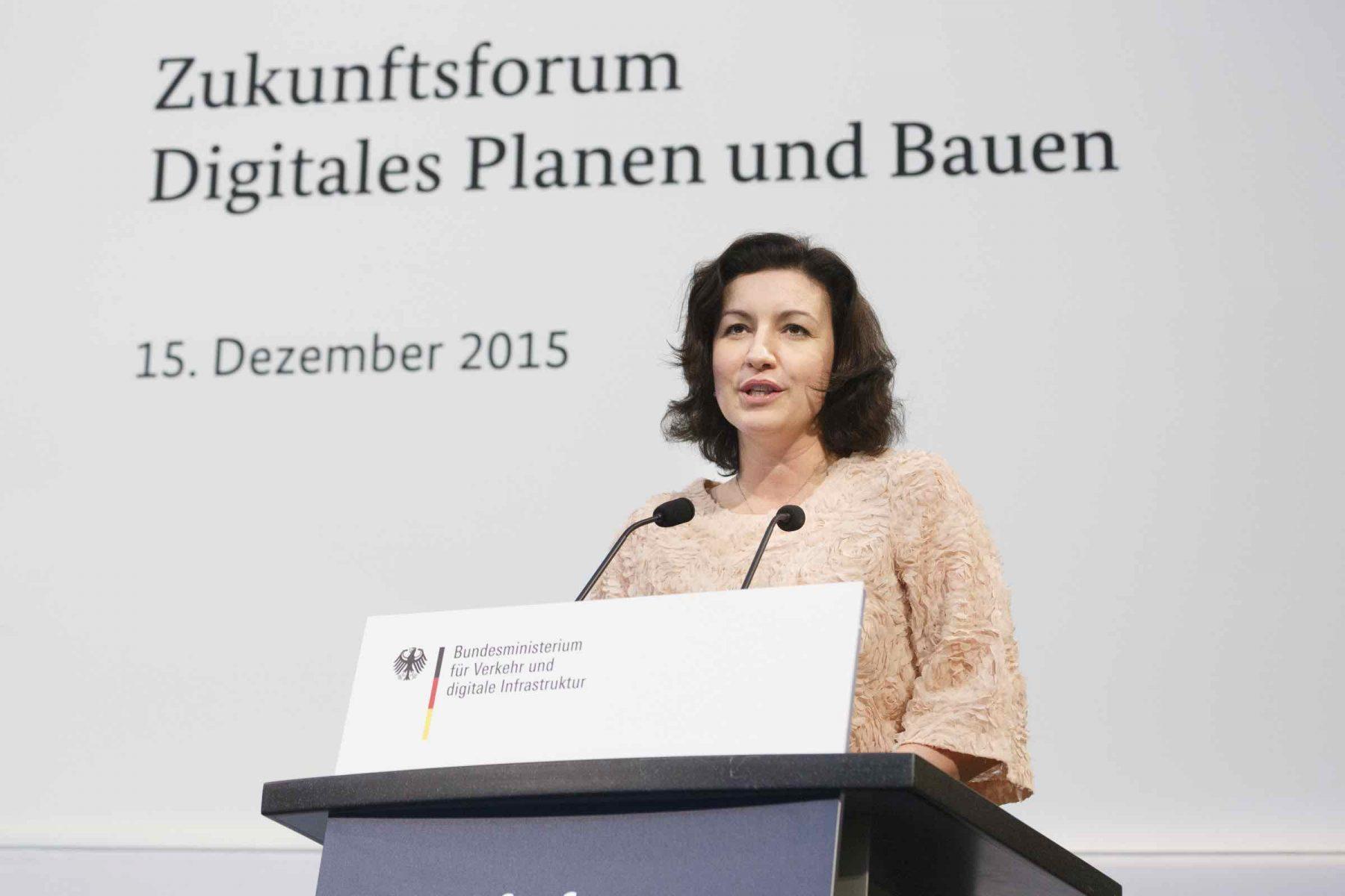 Dorothee Bär MdB, Parlamentarische Staatssekretärin, BMVI