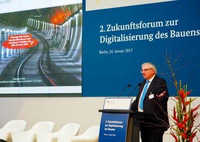 Heinz Ehrbar, Leiter Management Großprojekte bei der DB Netz AG