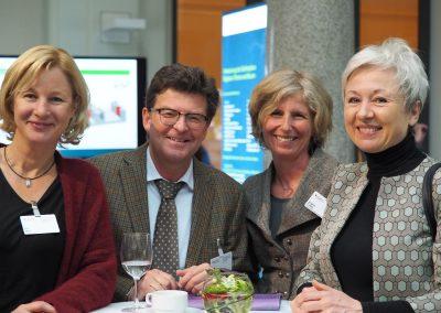 Dr. Ilka May, Dipl.-Ing. Helmut Bramann, Archtektin Angela Tohtz, Architektin Annette von Hagel (v. li.)