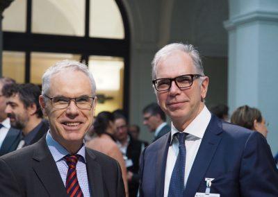 Dipl.-Ing. Peter Steinhagen und Prof. Dr. Klaus Eschenbruch