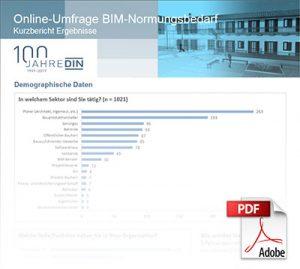 Online-Umfrage BIM-Normungsbedarf PDF