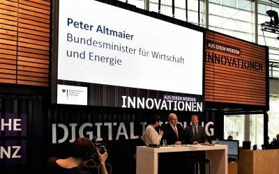 planen-bauen 4.0 mit BIMSWARM auf der Hannover Messe Industrie