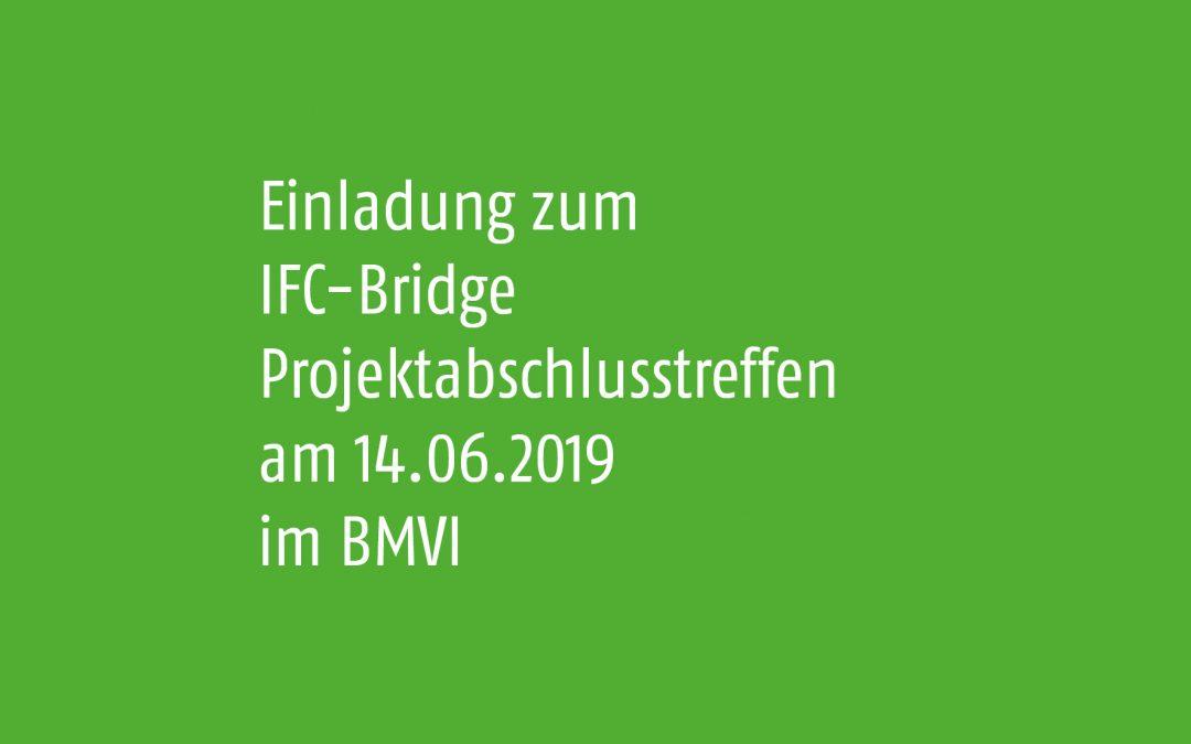 IFC-Bridge Projektabschlusstreffen im BMVI