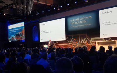 Impressionen – planen-bauen 4.0 bei den Tagen der digitalen Technologien