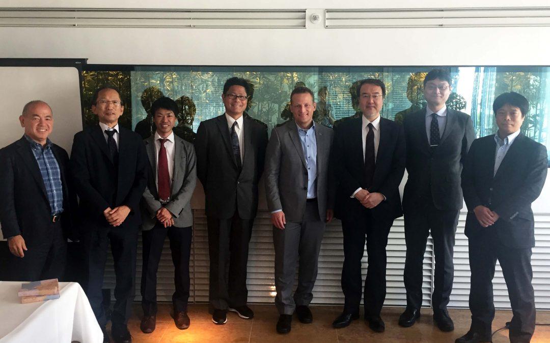 Japanische Delegation trifft mit Dr. Jan Tulke planen-bauen 4.0