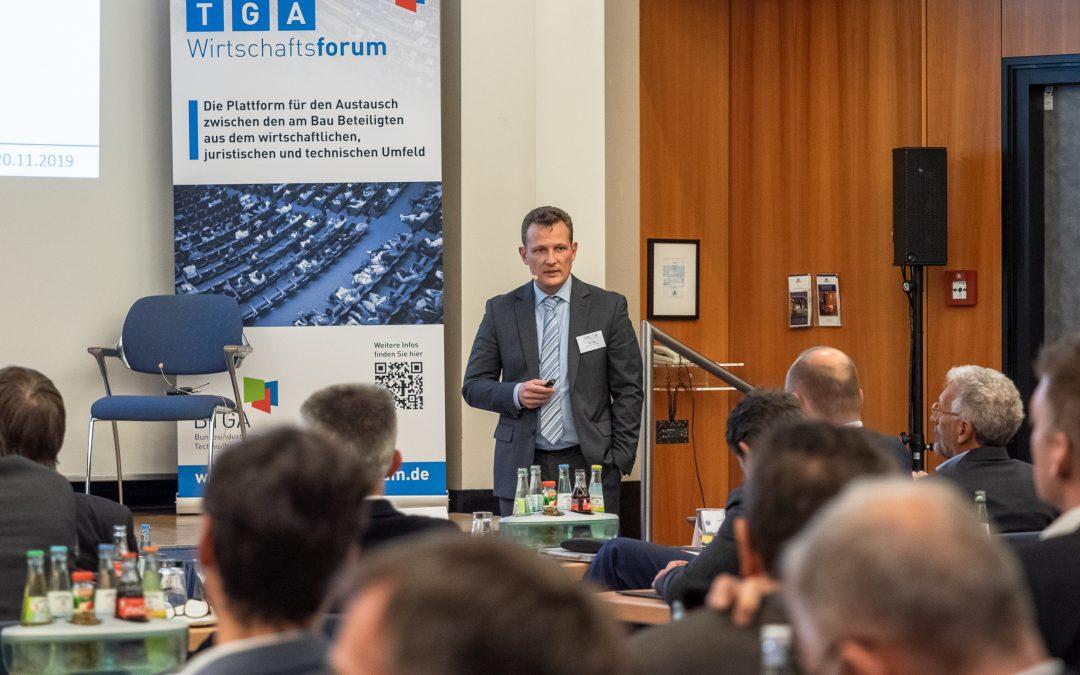 19.11.2019 – Dr. Jan Tulke beim TGA-Wirtschaftsforum