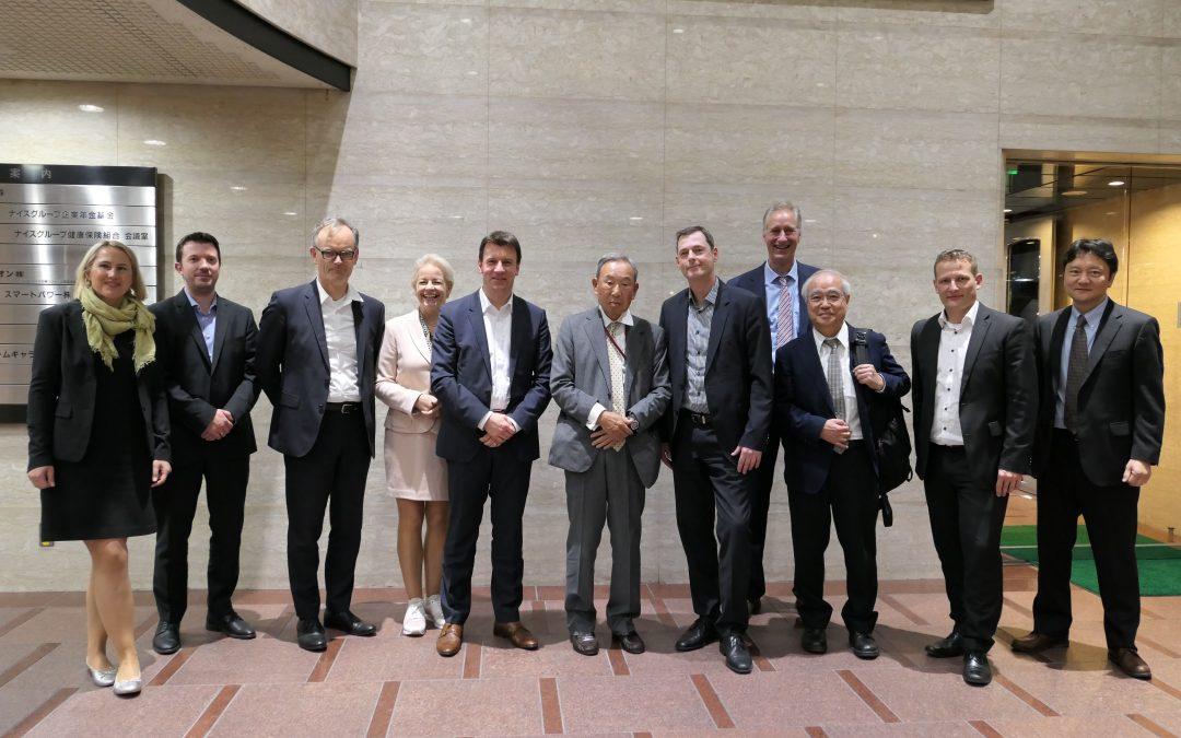 planen-bauen 4.0 in Japan, Tschechien und Litauen – Dr. Jan Tulke stellt die Strategie des Bundes im Ausland vor.